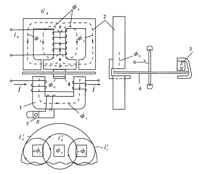 Индукционный измерительный механизм