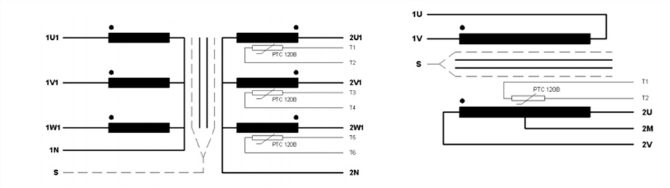Рис.2 Схемы соединений