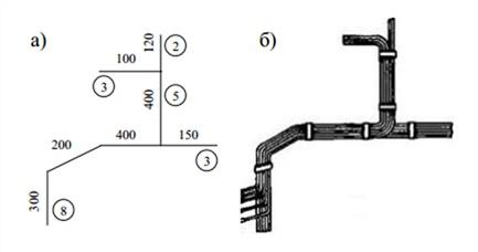 Эскизы для заготовки проводов