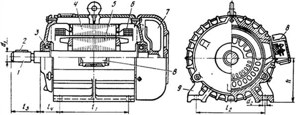 Для чего нужно кольцо упорное пружинное в электродвигателя аир