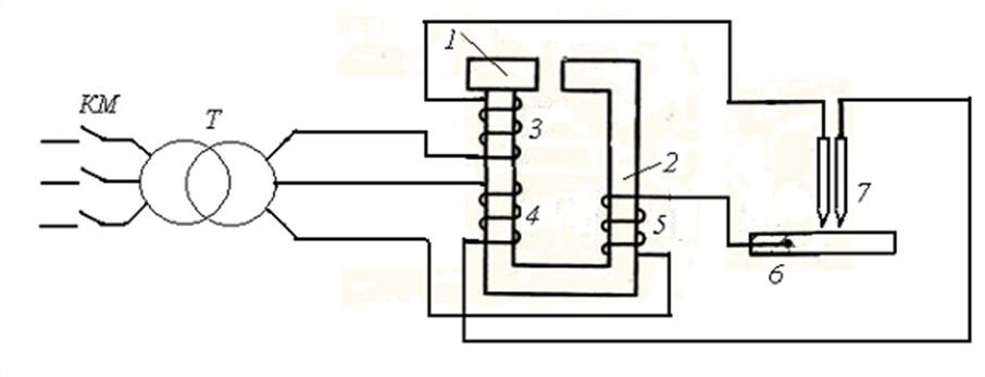 схема трехфазного сварочного